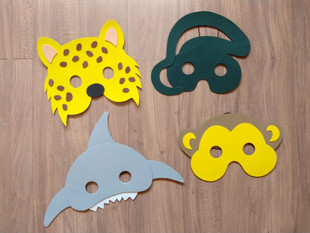 Máscaras em E.V.A.