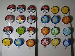 Topper para docinhos Pokémon