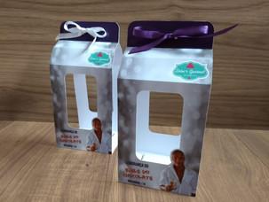 Embalagem para taça de acrílico