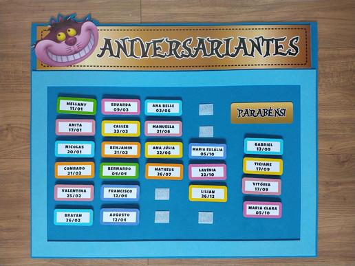 Cartaz Aniversariantes