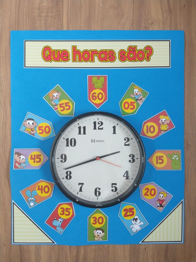 """Quadro """"Que horas são?"""""""