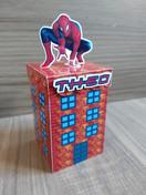 Caixa prédio Homem Aranha