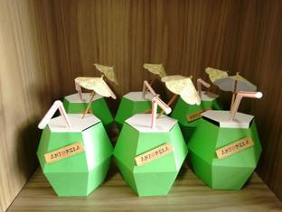 Caixa coco personalizada