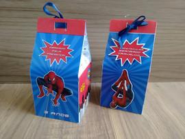 Caixa milk Homem Aranha