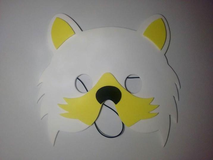 Meia Máscara Gato