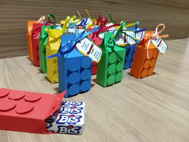 Porta Bis Duplo Lego