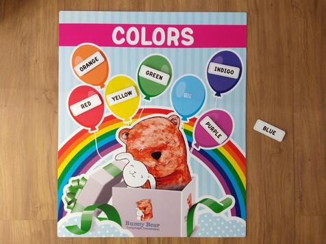 """Quadro interativo """"Colors"""""""