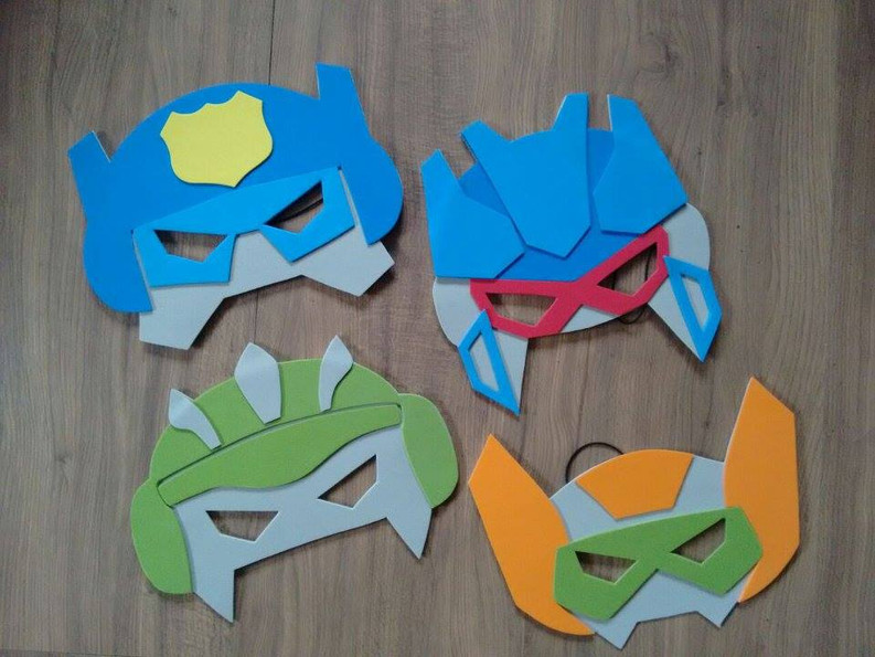 Máscaras Transformers
