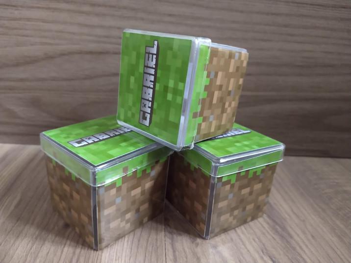 Caixa acrílica personalizada