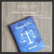 Caderno Personalizado Direito
