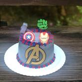 Topo de bolo Avengers