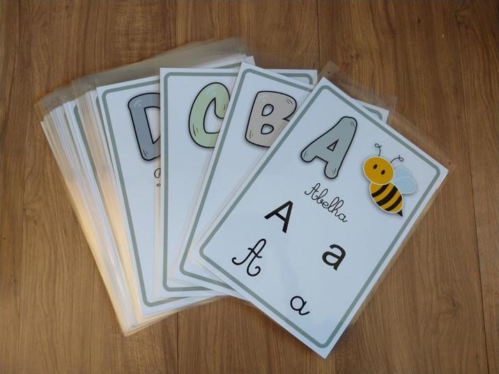 Alfabeto 4 tipos de letra