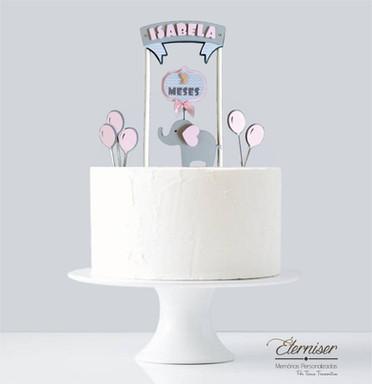 Topo de bolo Elefantinho