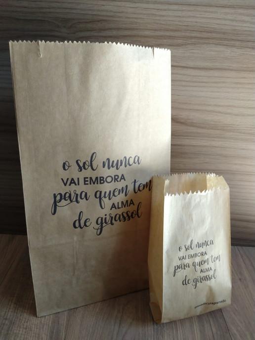 Sacos de pão personalizados