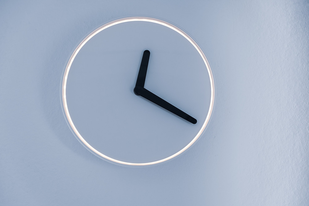 Photo of a faceless clock