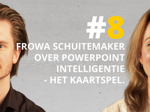 #DNRpodcast 8 | Frowa Schuitemaker over PowerPoint Intelligentie, het kaartspel.