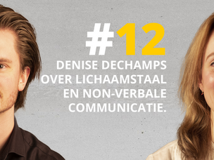 #DNRpodcast 12 | Denise Dechamps over lichaamstaal en non-verbale communicatie
