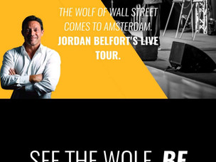 Jordan Belfort: the Wolf of Wallstreet live on stage