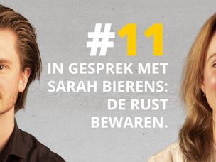 #DNRpodcast 11 | In gesprek met Sarah Bierens: De rust bewaren
