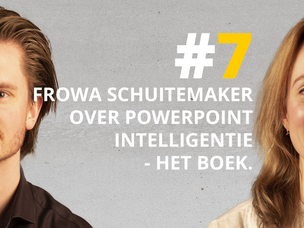 #DNRpodcast 7 | Frowa Schuitemaker over PowerPoint Intelligentie, het boek.