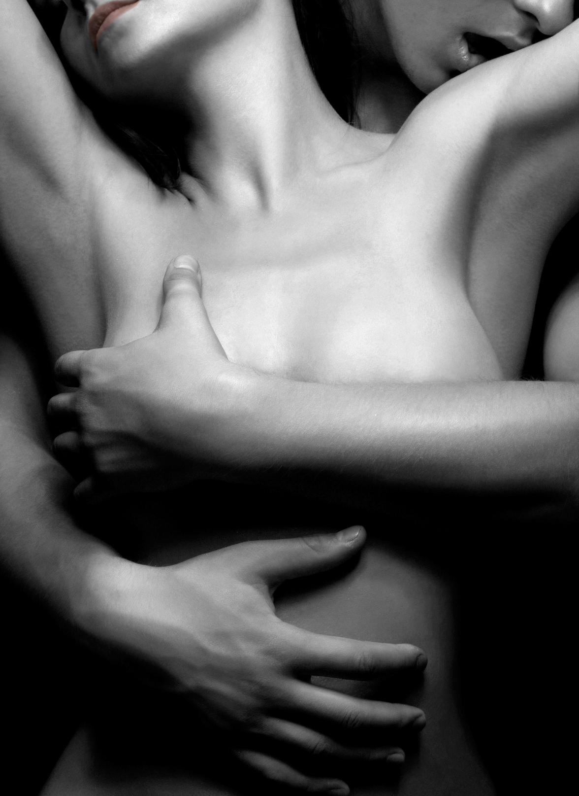 Naked hug romance