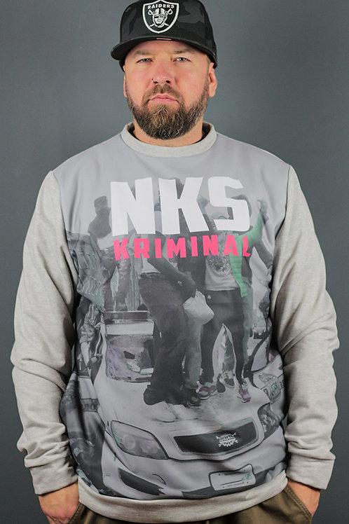 NKS x Grindrise Criminals Crewneck