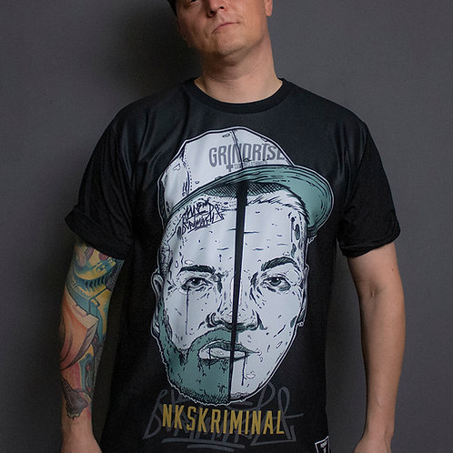 NKS Two Faces of Underground Tee