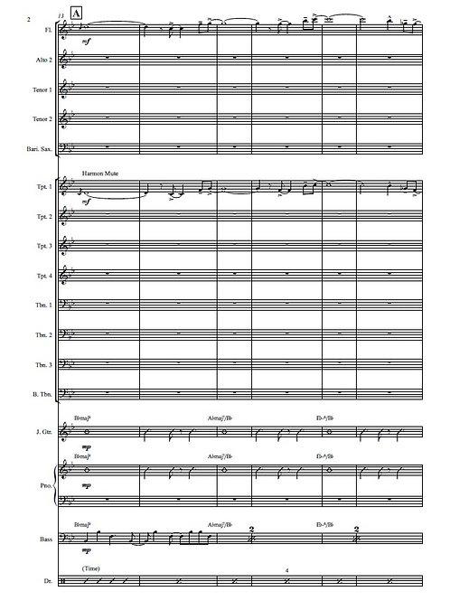 Spoon Bag - Big Band Arrangement