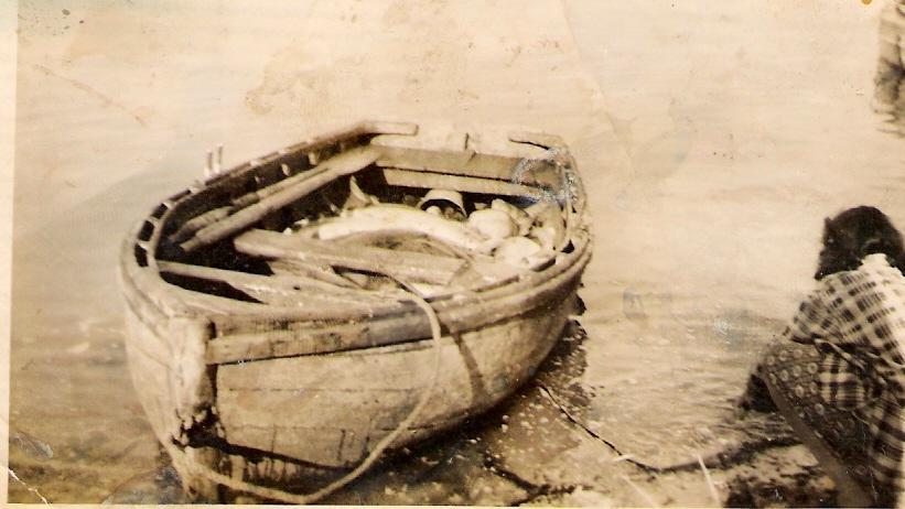 Bateau de pêche au saumon