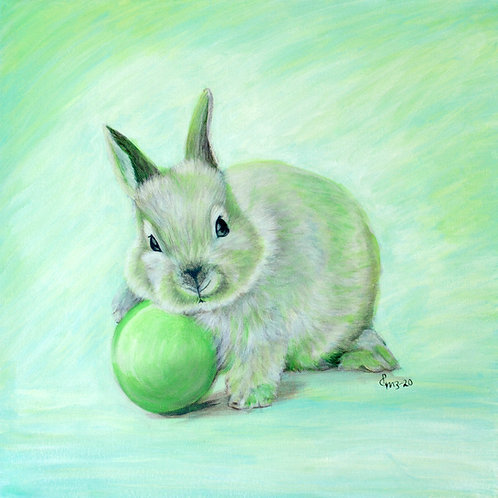 Easter Bunny - GREEN
