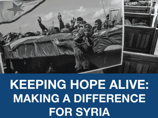 MFA Webinar | Keeping Hope Alive: Making a Difference for Syria