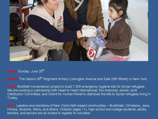 Faith and Heart: Uniting to Help Syrian Refugees