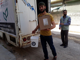 Humanitarian Relief | 5,142 People Served in Northwest Syria Amid Bombing