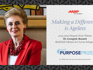 Multifaith Alliance Founder Georgette Bennett Wins AARP Purpose Prize