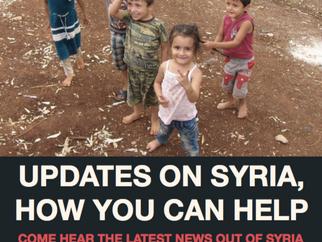 MFA Webinar | Updates on Syria, How You Can Help