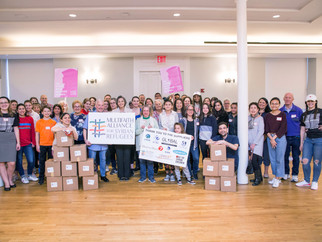 MFA Kicks Off Women's Relief Program with Packing Event