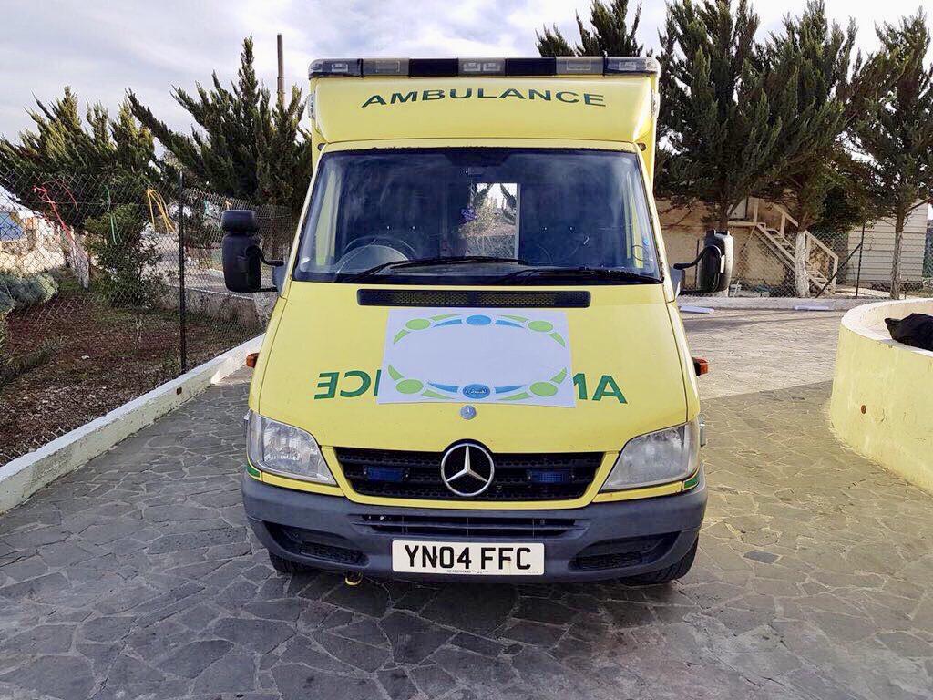 Four Ambulances Shipped