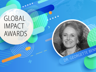MFA Founder — Dr. Georgette Bennett — Granted an Inaugural Global Impact Award