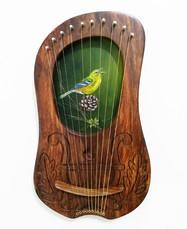 Green Finch Lyre - $270
