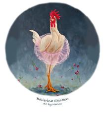 Ballerina Chicken