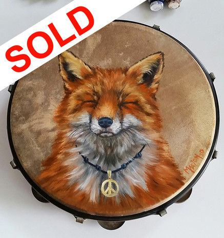 SOLD - Zen Fox