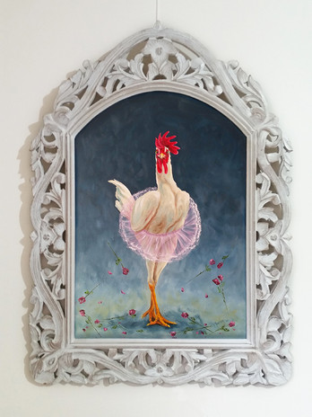 Ballerina Chicken - $480