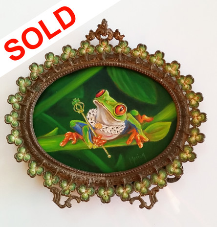 SOLD - Regal Frog