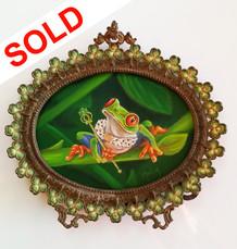 SOLD - Regal Frog