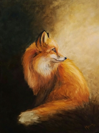 SOLD - Red Fox