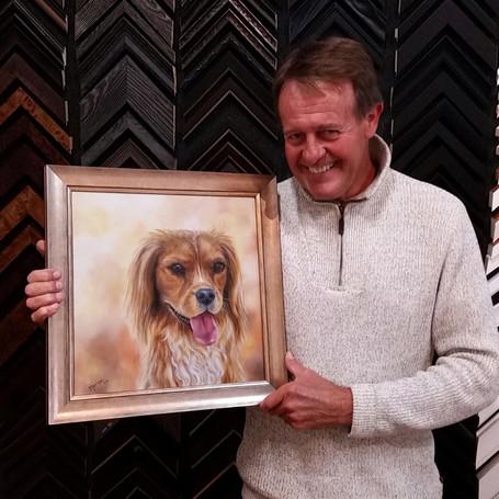 Toby framed