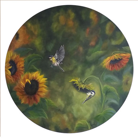 SOLD - Sunflowers