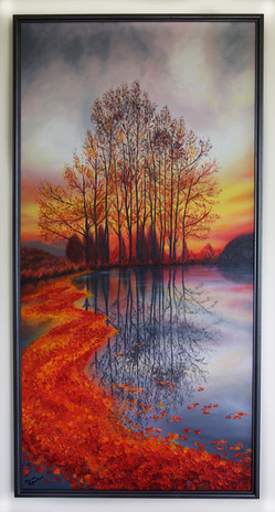 SOLD - Sunset Trees