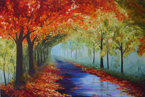 SOLD - Autumn Walk