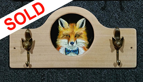 SOLD - Bow Tie Fox